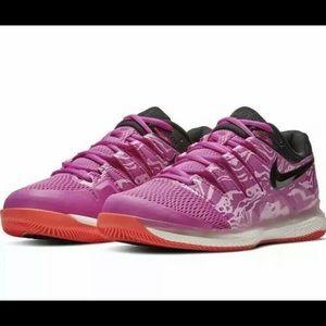 Nike Air Zoom Vapor X Tennis Shoes Fuchsia White